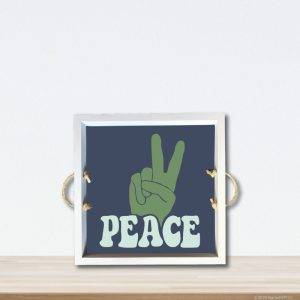 6086 Peace Sign